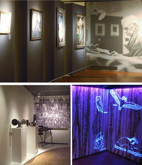 Gruppofallani allestimento per mostre e musei sistemi for Sistemi di illuminazione